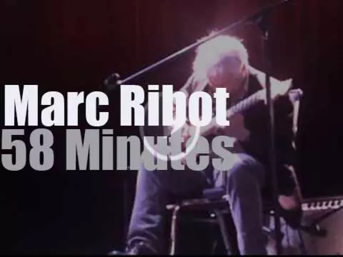 Marc Ribot holds a launch party (2014)