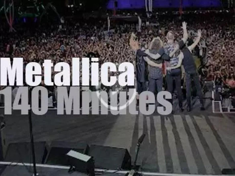 Metallica play in Las Vegas (2015)