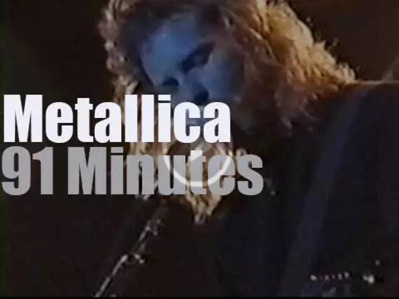 Metallica roam in Santiago, Chile (1993)