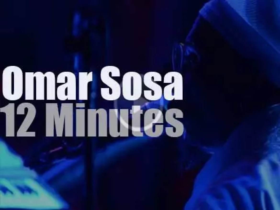 Omar Sosa is at Blue Note in New York (2014)