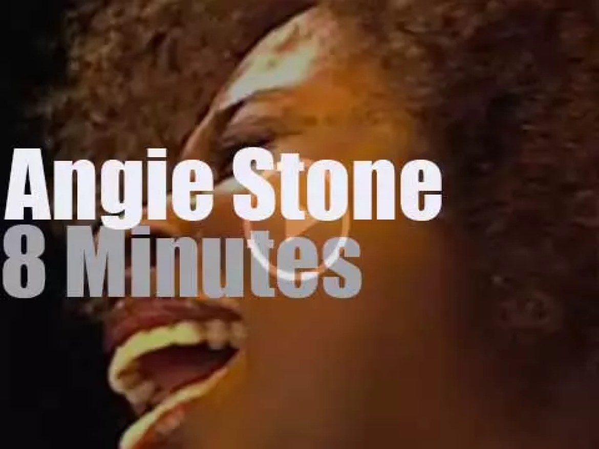 On Dutch TV today, Angie Stone (2000)
