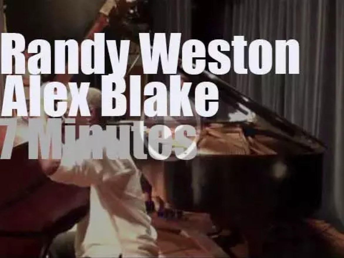 Randy Weston & Alex Blake are at the museum (2010)