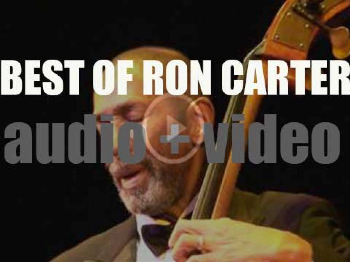Happy Birthday to Ron Carter. 'Beau Ron'