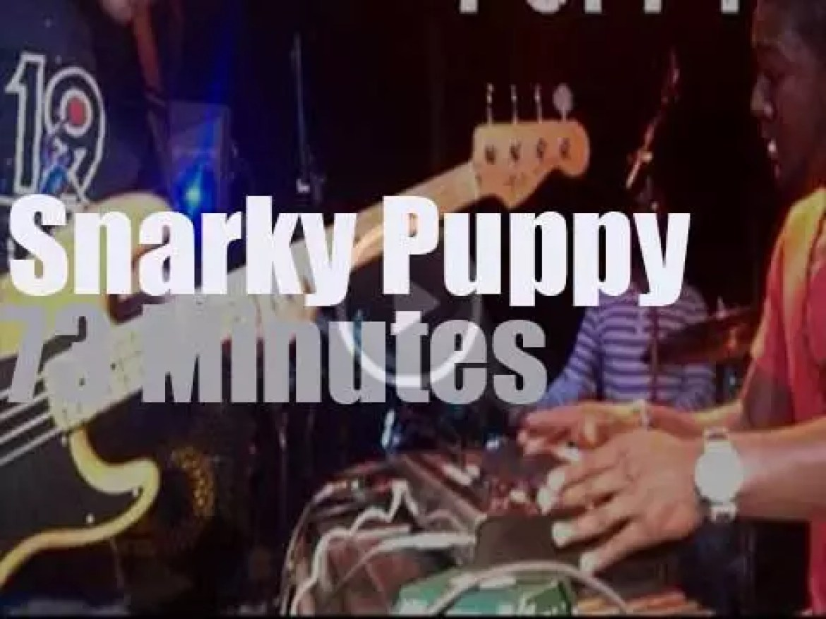 Snarky Puppy play in Dallas (2013)