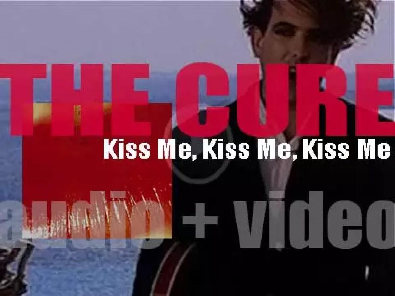The Cure release their seventh album : 'Kiss Me Kiss Me Kiss Me' (1987)