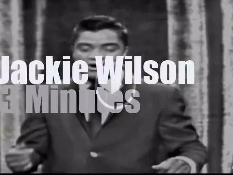 On TV today, Ed Sullivan presents Jackie Wilson (1962)