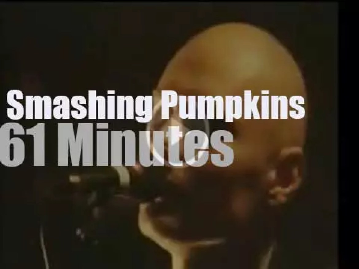 The Smashing Pumpkins are in Dublin (1998)
