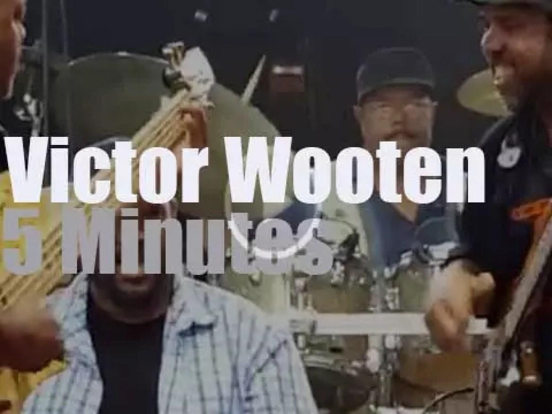 Victor Wooten slaps in Boca Raton (2016)