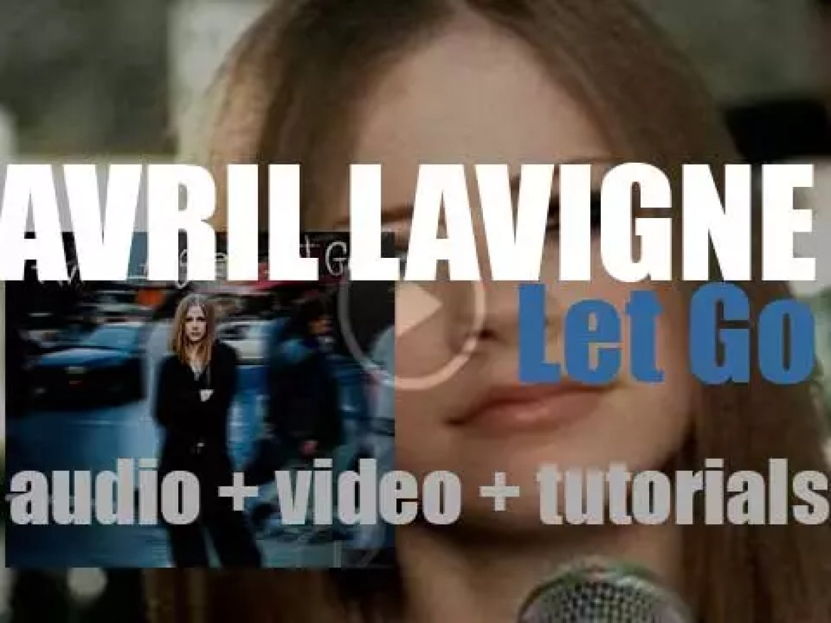 Arista release Avril Lavigne's 'Let Go,' her debut album featuring 'Complicated' and 'Sk8er Boi' (2002)