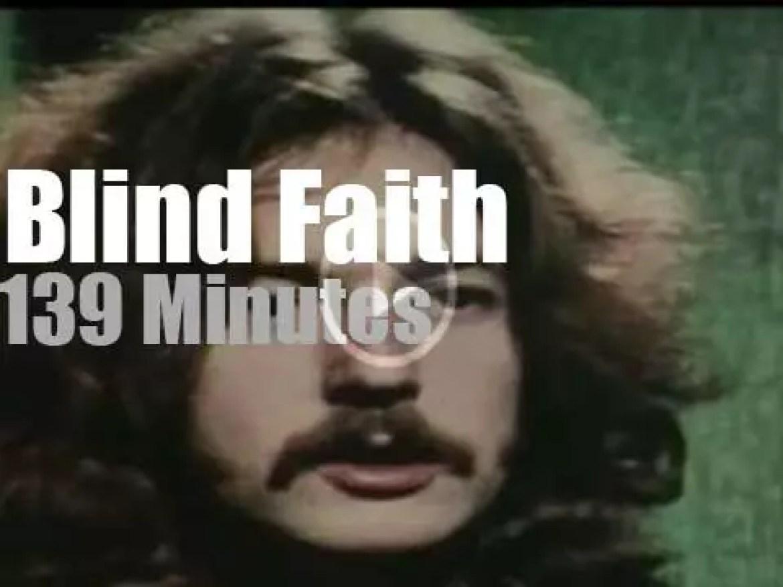 Blind Faith debuts at Hyde Park (1969)