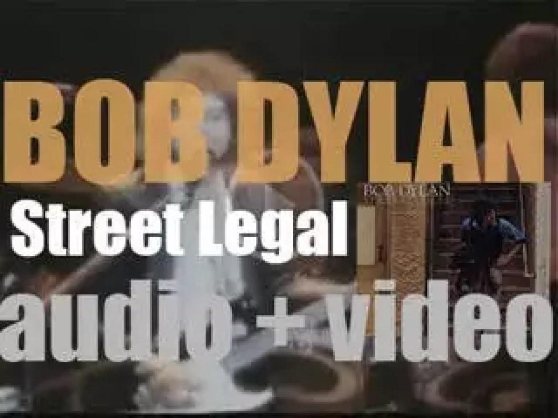 Columbia publish Bob Dylan's eighteenth studio album  : 'Street-Legal' (1978)