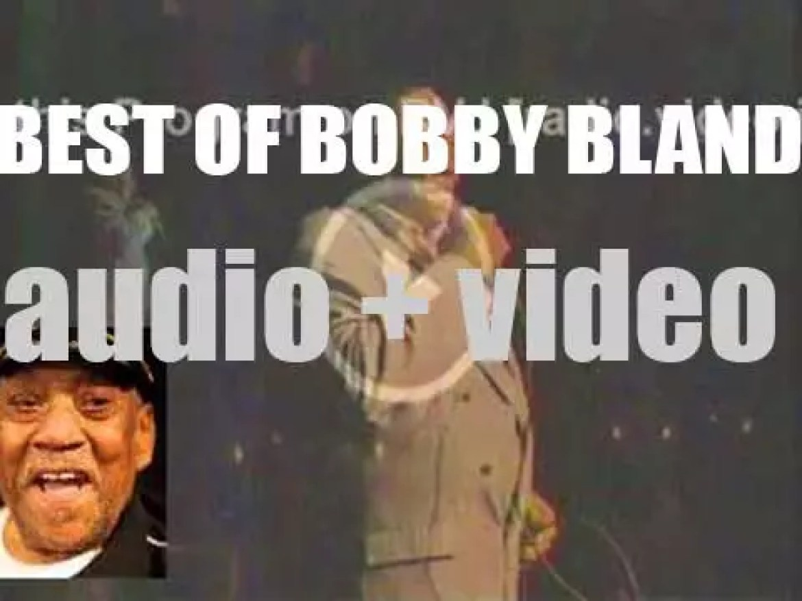 We remember Bobby Blue Bland. 'A Bland Blue Day'