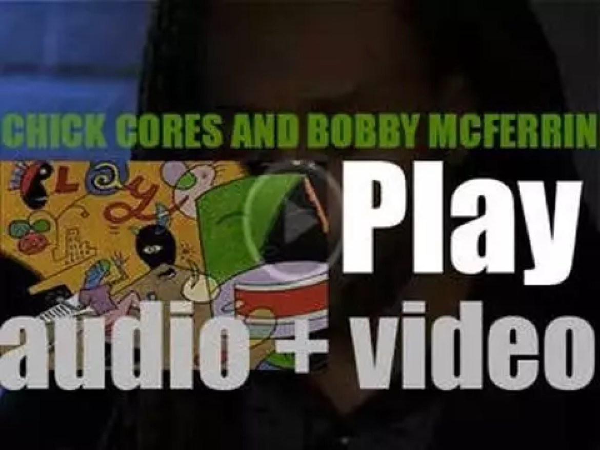 Bobby McFerrin and Chick Corea record 'Play' at at Wolftrap in Vienna, Virginia (1990)