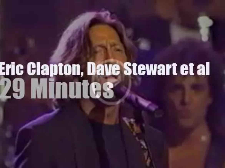 Clapton, Dave Stewart, Melissa Etheridge et al gather for the IRA (1990)