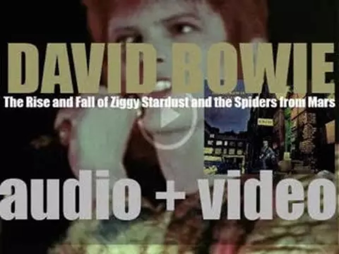 David Bowie releases 'The Rise and Fall of Ziggy Stardust and the Spiders from Mars,' his fifth album featuring 'Starman' / 'Suffragette City' (1972)