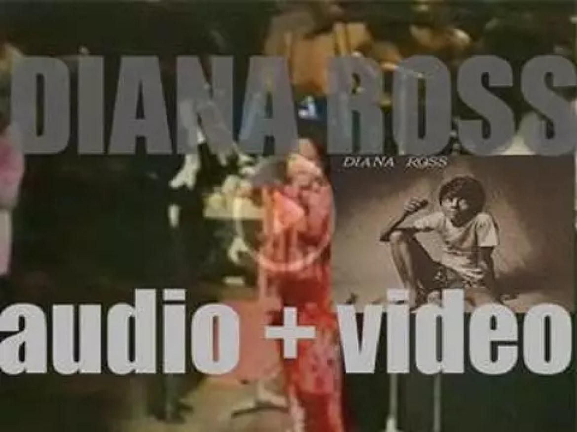 Motown release 'Diana Ross,'  her self-titled debut solo album featuring 'Ain't No Mountain High Enough' (1970)
