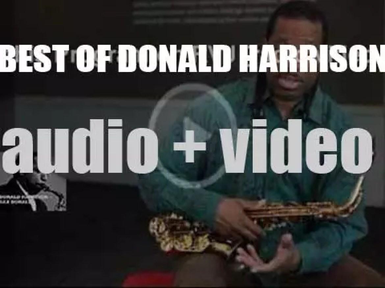 Happy Birthday Donald Harrison. 'Sax Donald'