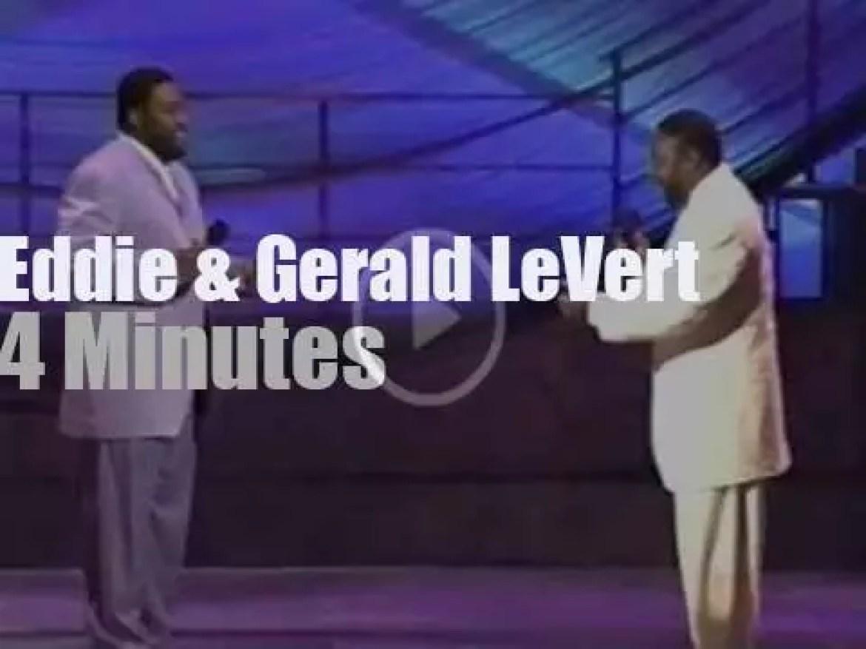 Eddie & Gerald LeVert duet at the first Essence Awards (1995)