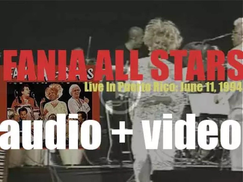 'Fania All-Stars – Live In Puerto Rico' celebrate Fania Records 30th anniversary (1994)