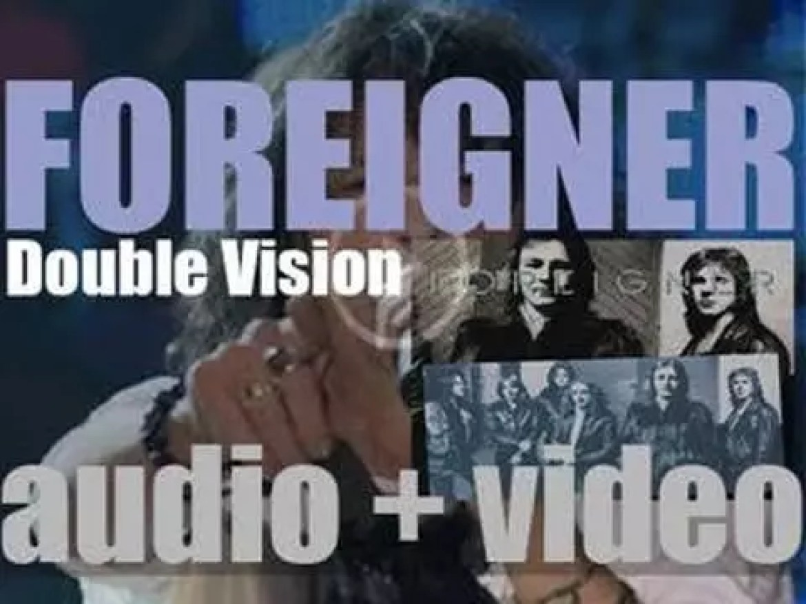 Atlantic publish Foreigner's second album : 'Double Vision' featuring 'Hot Blooded' (1978)