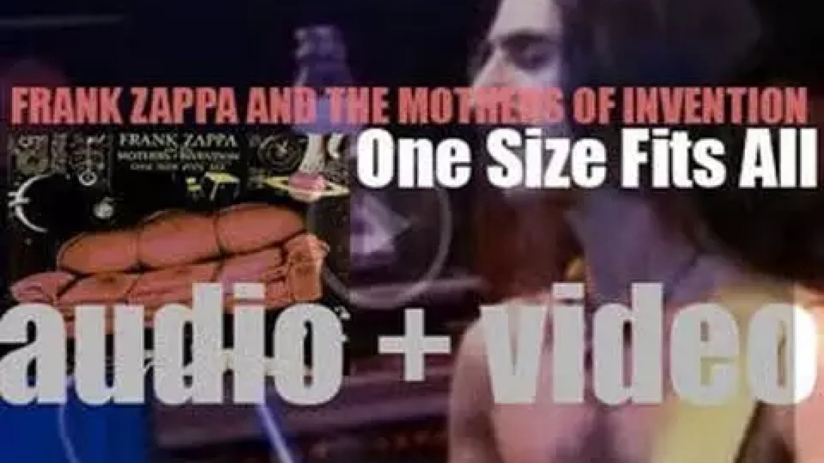 Discreet release 'One Size Fits All' by Frank Zappa & The Mothers of Invention (1975)