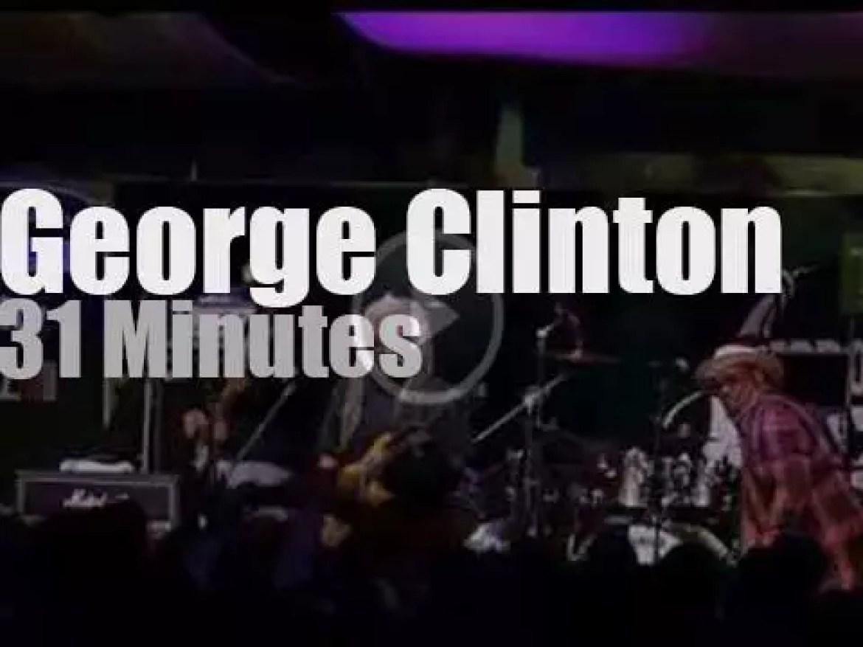 George Clinton takes Parliament Funkadelics to Toronto (2015)
