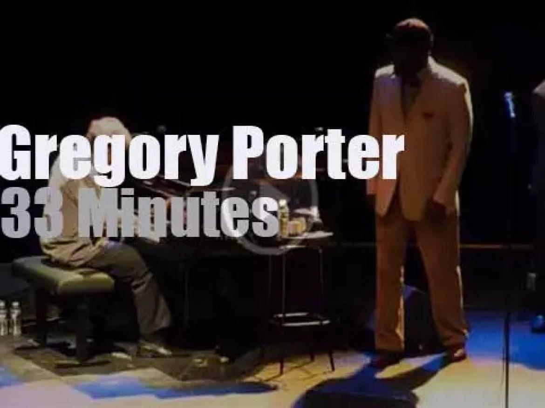 Gregory Porter sings in Paris (2012)