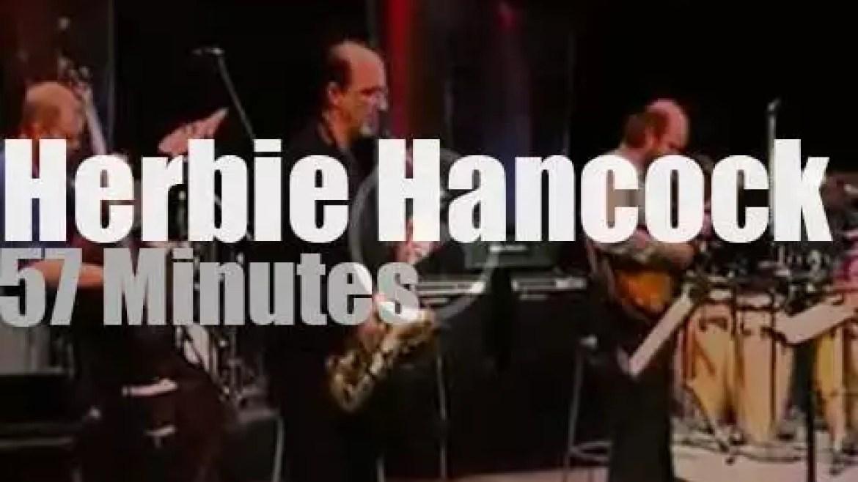 Herbie Hancock et al play at Montreal Jazz Festival (1997)