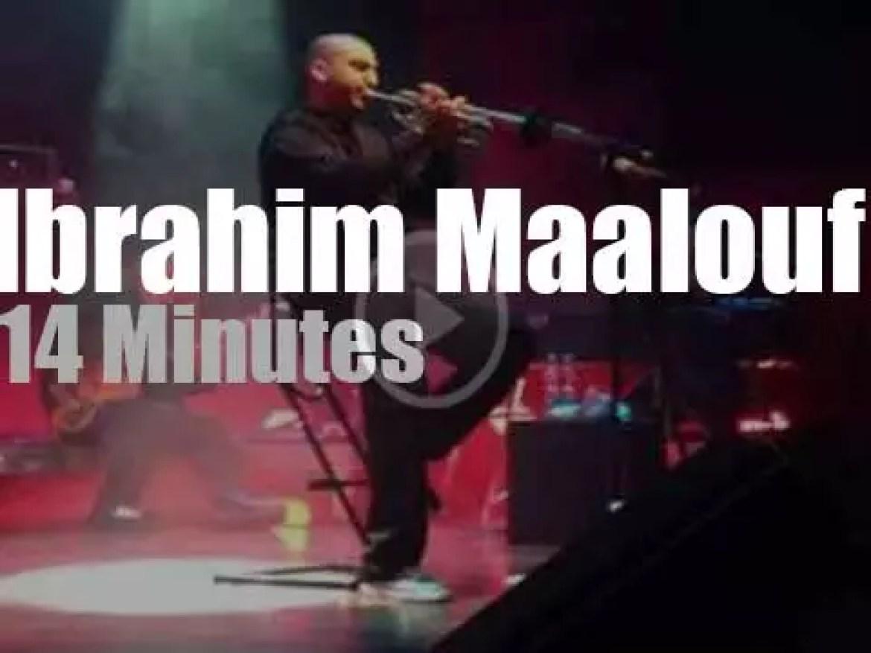 Ibrahim Maalouf plays in Poland (2013)