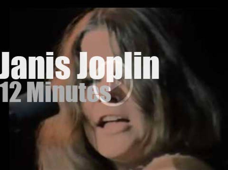Janis Joplin rocks day two at Monterey Pop Festival (1967)