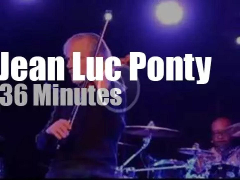 Jean Luc Ponty  plays in Rio de Janeiro (2014)