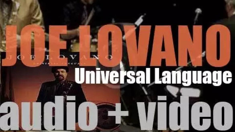Joe Lovano records 'Universal Language' for Blue Note (1992)