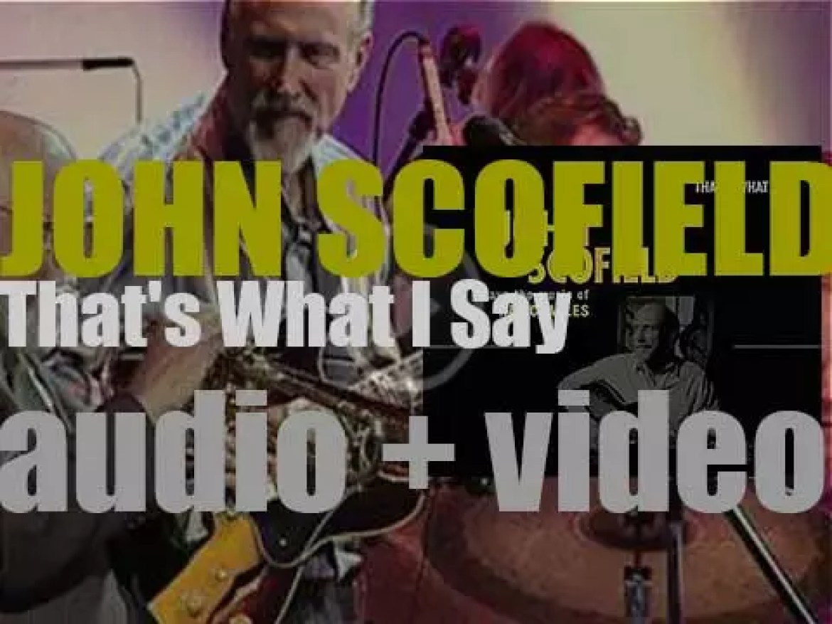 Verve release 'That's What I Say: John Scofield Plays the Music of Ray Charles' (2005)