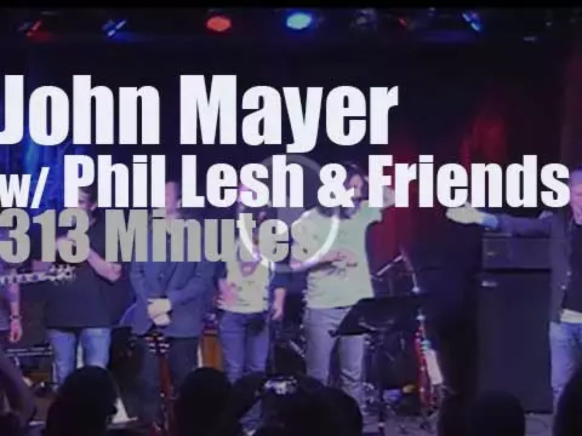 John Mayer sits in with Phil Lesh in California (2015)
