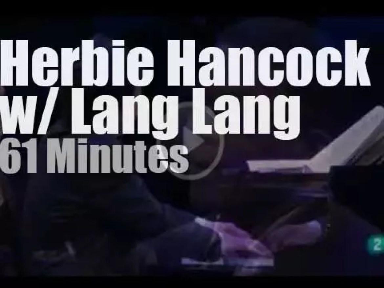 Lang Lang turns 30 in Berlin, then Herbie followed by fifty kids walks in (2012)