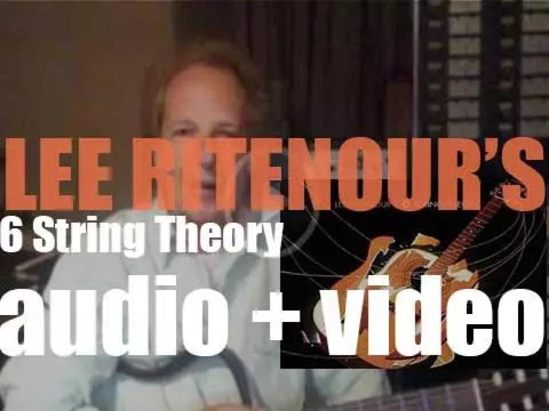 Concord publish 'Lee Ritenour's 6 String Theory' recorded with John Scofield, Taj Mahal, Pat Martino, Joe Bonamassa, Robert Cray, Slash, George Benson, B.B. King, Steve Lukather, Mike Stern et al (2010)