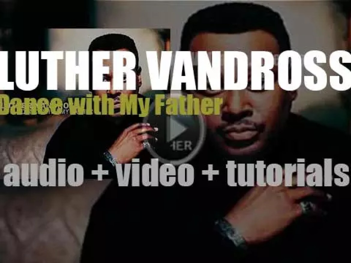 Luther Vandross releases 'Dance with My Father,' his thirteenth and final album (2003)
