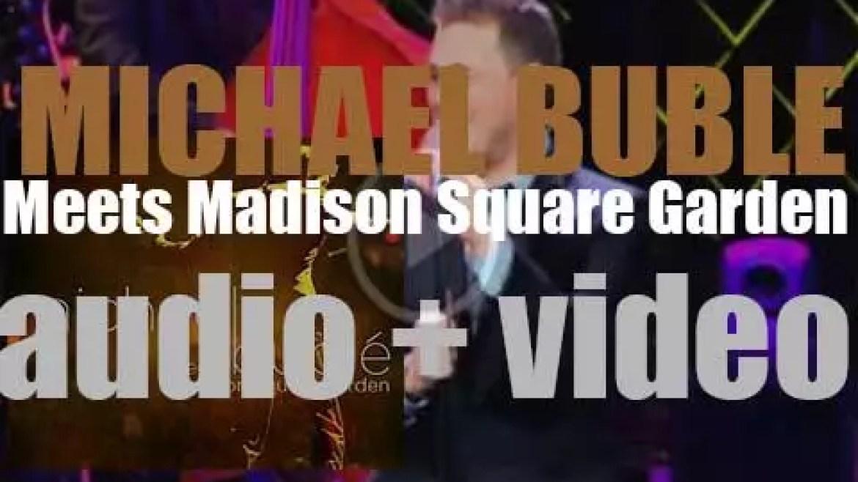 143 Records publish 'Michael Bublé Meets Madison Square Garden' (2009)