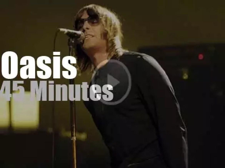 """""""Noelless"""" Oasis is at Rock Im Park (2000)"""