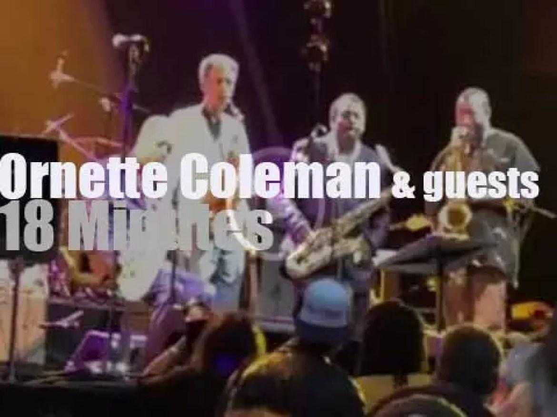 Patti Smith, Flea et al celebrate Ornette Coleman (2014)