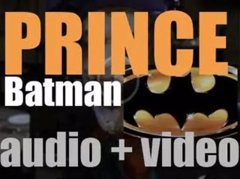 Warner Bros. publish Prince's 'Batman,' his eleventh album featuring 'Batdance' and soundtrack of the Batman movie (1989)