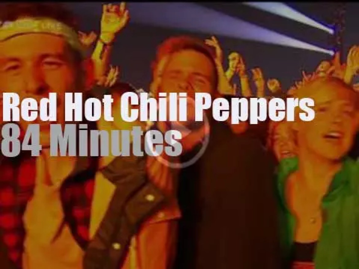 Red Hot Chili Peppers attend a rock festival in Germany  (2016)