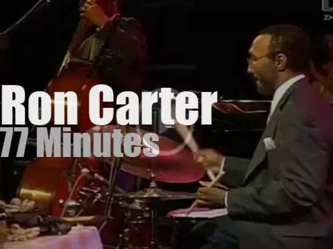 Ron Carter Foursight plays in  Slovenia (2003)