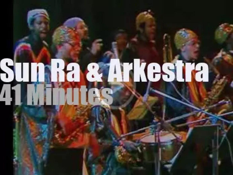 Sun Ra & his Arkestra travel to Norway (1982)