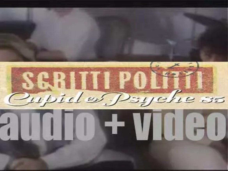 Virgin Records publish Scritti Politti's second album : 'Cupid & Psyche 85' (1985)