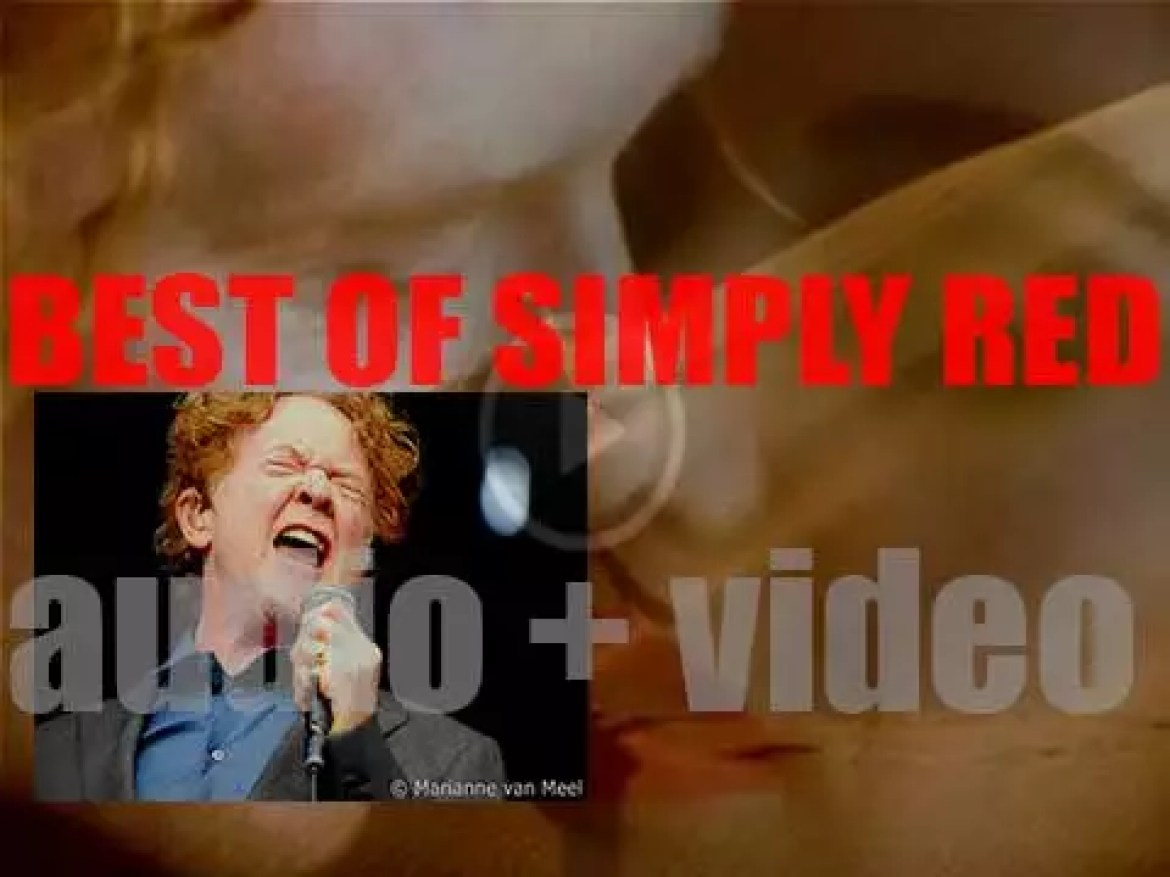 Happy Birthday Mick Hucknall. It's the perfect day for a 'Simply Red At Their Best' Post