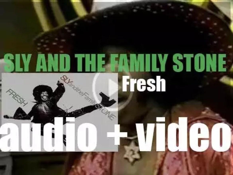 Epic publish Sly & the Family Stone's sixth album : 'Fresh' (1973)