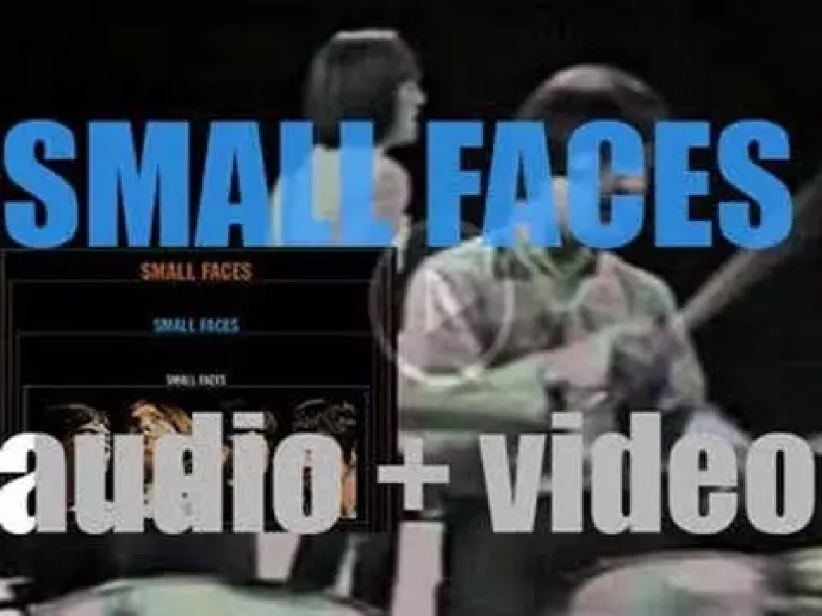 Immediate Records release 'Small Faces,' their second eponymous album featuring Steve Marriott and Ronnie Lane (1967)