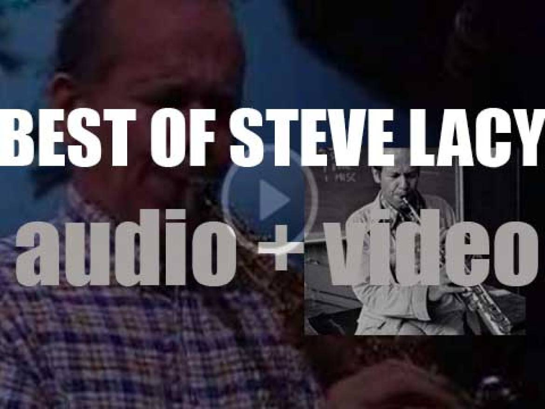 We remember Steve Lacy. 'Steve Soprano'