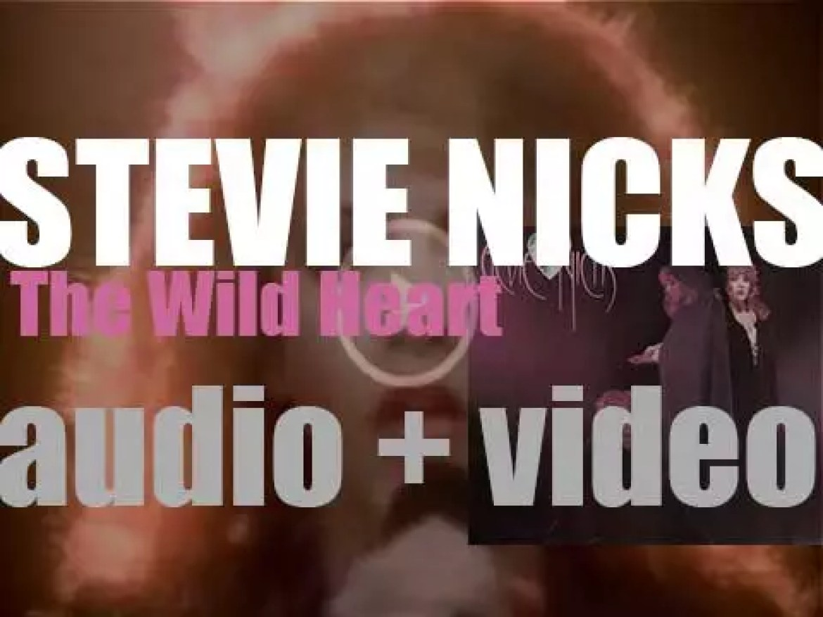 Stevie Nicks releases 'The Wild Heart,' her second album featuring 'Stand Back' (1983)